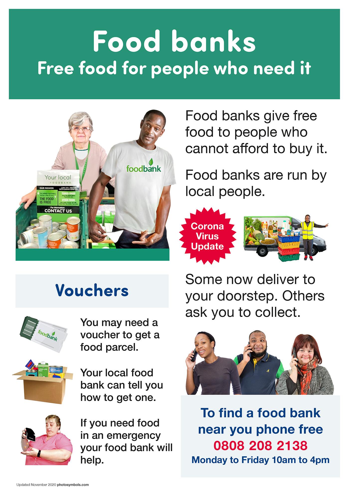 Food Banks poster